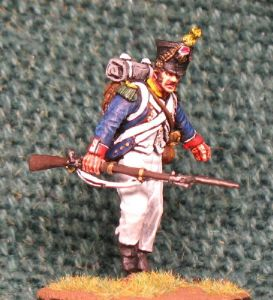 40mm (PE32), Napoleonic French Voltigeur 1809, Perry Miniatures 1 Figure